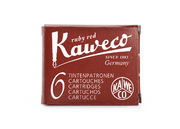 Kaweco Ink Cartridges 6 pieces Ruby Red