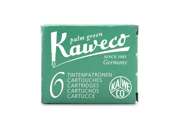 Kaweco Ink Cartridges 6 pieces Palm Green