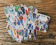 LDV Sticker Set 30 pieces in Tin