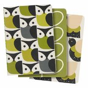SET OF 3 A6 MINI NOTEBOOKS