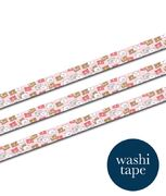 Pink Happy Mail Washi