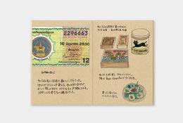 Traveler's Notebook | 009 Kraft Paper Refill Passport Size