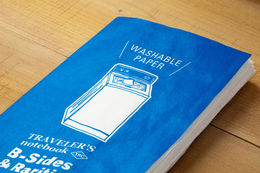 PREORDER: Traveler's Notebook Regular Size: Refill Washable Paper