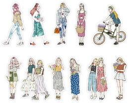 PREORDER: Pion | Sticker Set - Girls 74 pieces