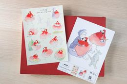 Dodolulu | Little Red Riding Hood - Sticker Sheet