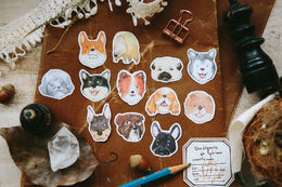 OURS Dogs Party Sticker Pack