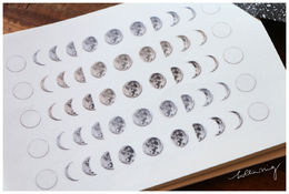 PREORDER: LCN | Print-on Stickers - Moon Phase