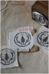 LCN | Reindeer Antlers 23mm metal stamp