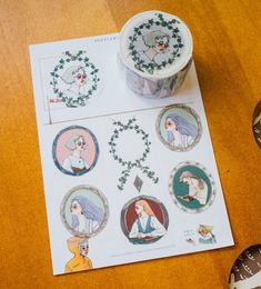 LDV Literary Girl Washi Tape