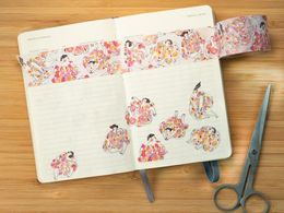 Dodolulu |The Floral Dress - Washi Tape