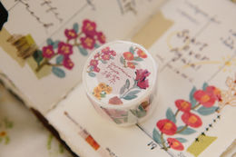 OURS Eupatorium Purple Washi Tape