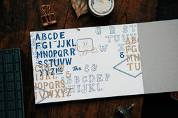 OURS Writings RISO Scrapbooking Paper Book