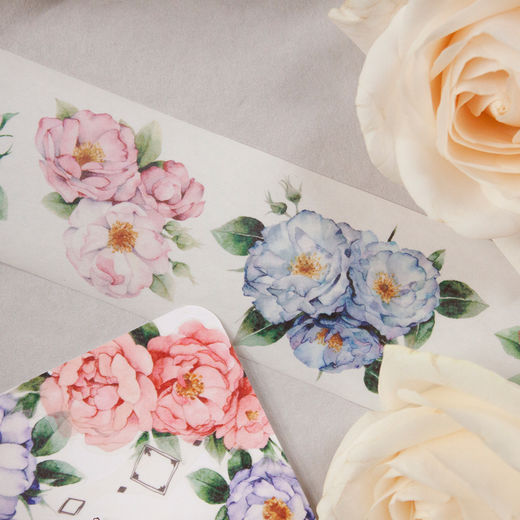 LOIDESIGN | 5 cm washi tape - Rose Garden