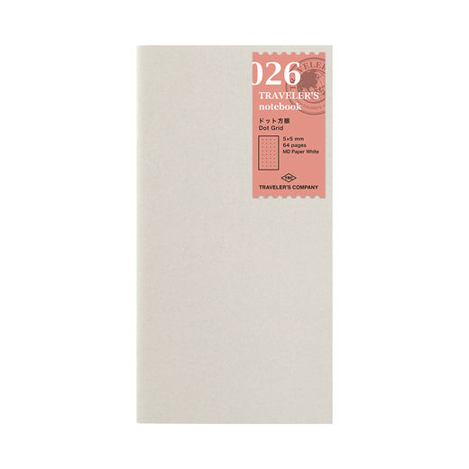 Traveler's Notebook | 026 Dot Grid Refill Regular Size