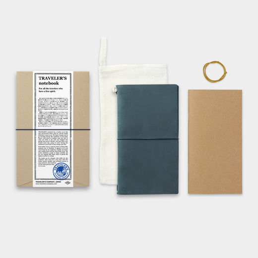 Traveler's Notebook Regular Size - Blue