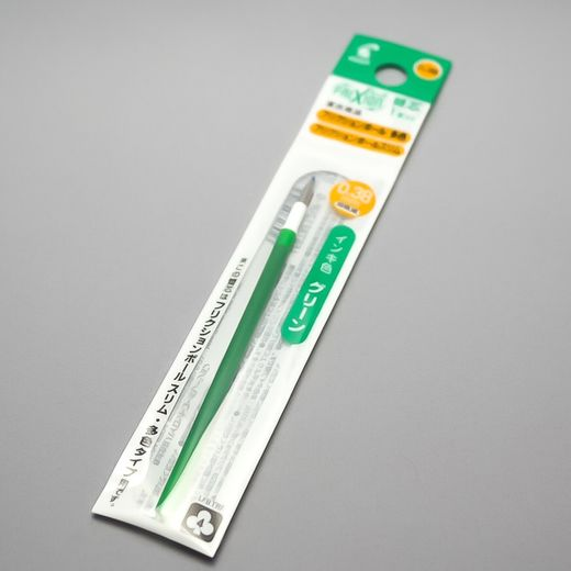 0.38 mm Green ink refill (Pilot FriXion Multi Pen)