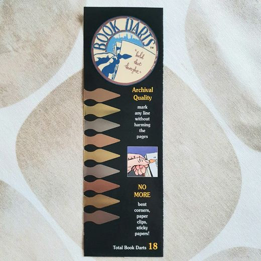 Book Darts | 18 pcs Mixed Metals