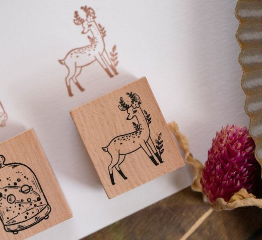 LOIDESIGN | Collect Beautiful Moments Stamp - 8 Dear Deer