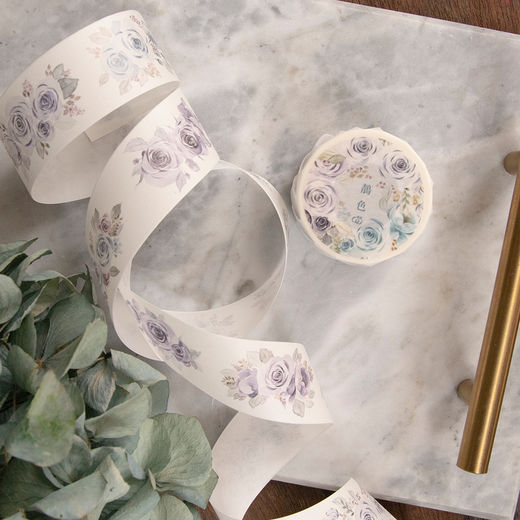 LOIDESIGN | 3 cm washi tape - Blue Rose