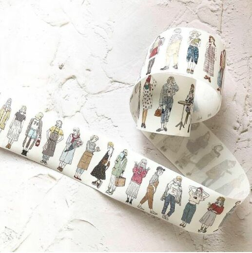 PREORDER: Pion | 46 Girls  Washi Tape