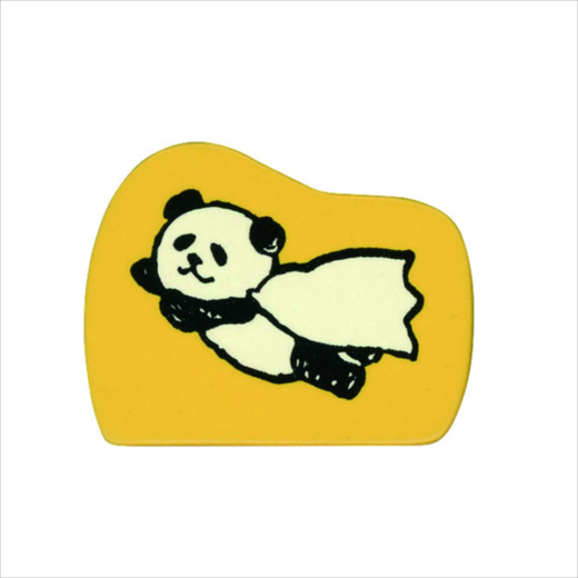 Wooden Stamp Panda Hero
