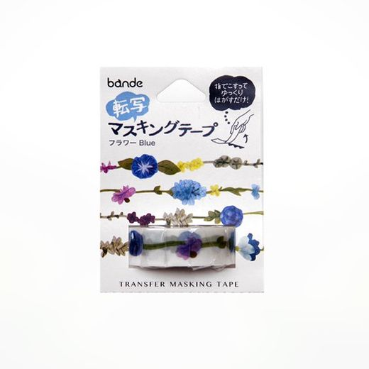 Bande | Transfer Masking Tape BDA511 Flower Garland Blue