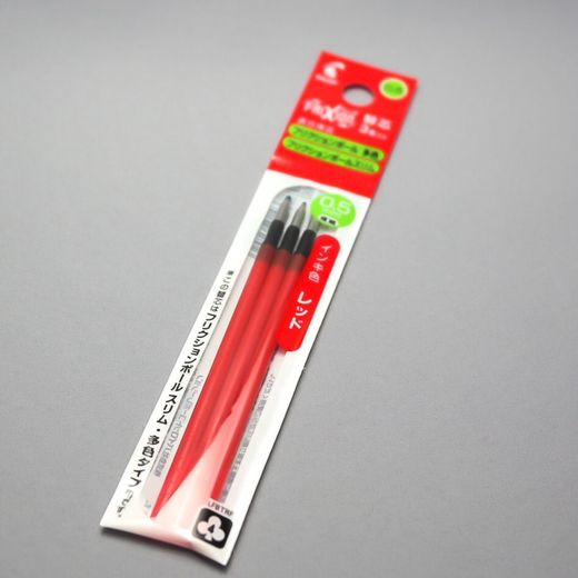 0.5 mm Red 3-pack ink refill (Pilot FriXion Multi Pen)