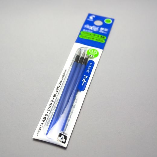 0.5 mm Blue 3-pack ink refill (Pilot FriXion Multi Pen)