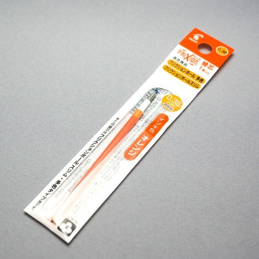 0.38 mm Orange ink refill (Pilot FriXion Multi Pen)