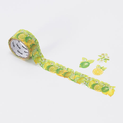 Bande | Washi roll sticker BDA235 Lemon and Lime