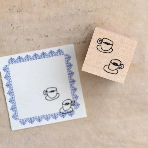 Shuzi Orishige | Rubber Stamp [Hot Drink]