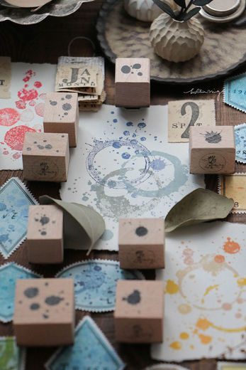 LCN| Spot Rubber Stamps Vol. 2