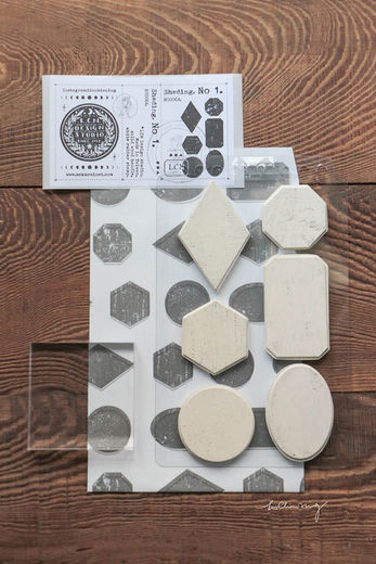 LCN| Shading Mounted Rubber Stamps No. 1