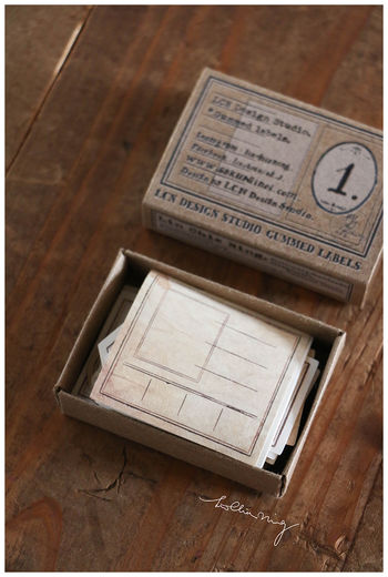 LCN | Gummed Label Set - Specimen Box No 1