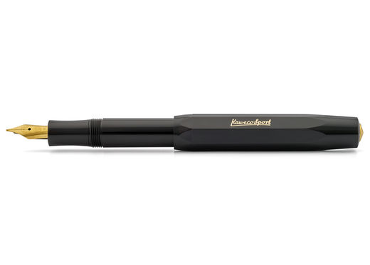 EF 0.5 Kaweco CLASSIC Sport Fountain Pen Black