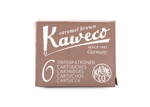 Kaweco Ink Cartridges 6 pieces Caramel Brown