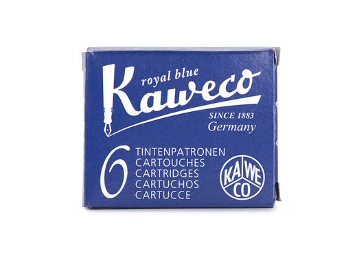 Kaweco Ink Cartridges 6 pieces Royal Blue