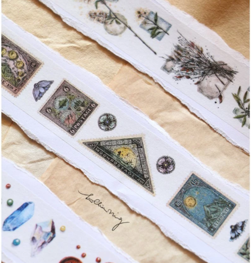 LCN | Antique Postage Stamp Masking Tape