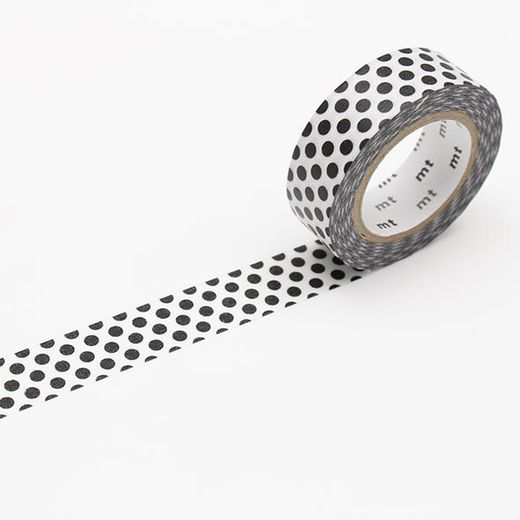 MT Masking Tape Dot Black 2