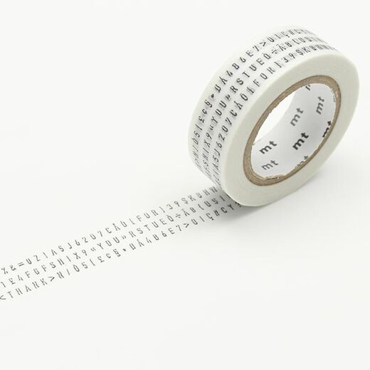 MT Masking Tape - Character Strings