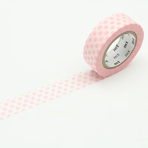 MT Masking Tape Dot Baby Pink