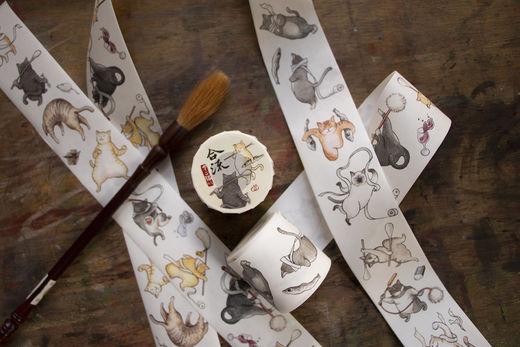 LOIDESIGN | 5 cm washi tape - Chunibyo Cats V