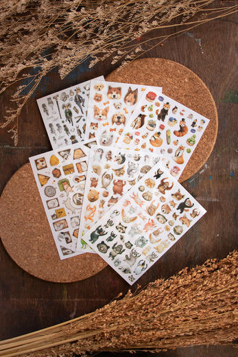 LOIDESIGN | Transfer Sticker Set - Animals