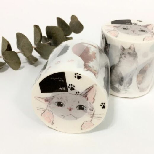 somesortof.fern | Cat Paws Washi Tape