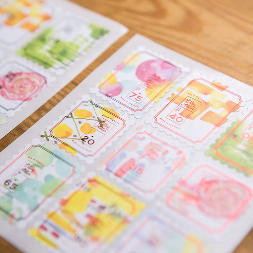 OURS Color Games Stamp Stickers