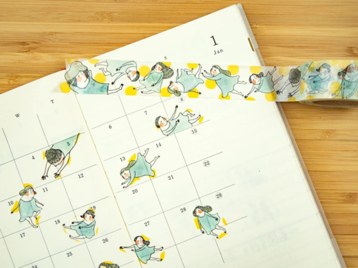 Dodolulu | Fly Me to the Moon - Washi Tape