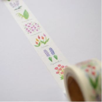 Tomoko Shinozuka | Full Bloom - washi tape