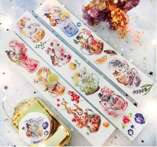Maruco Art | Magic Tea Time Washi