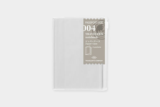 Traveler's Notebook | 004 Refill Zipper/Card File Passport Size