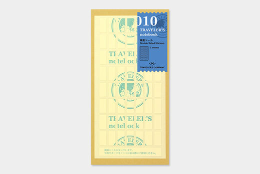 Traveler's Notebook | 010 Both Side Sticker